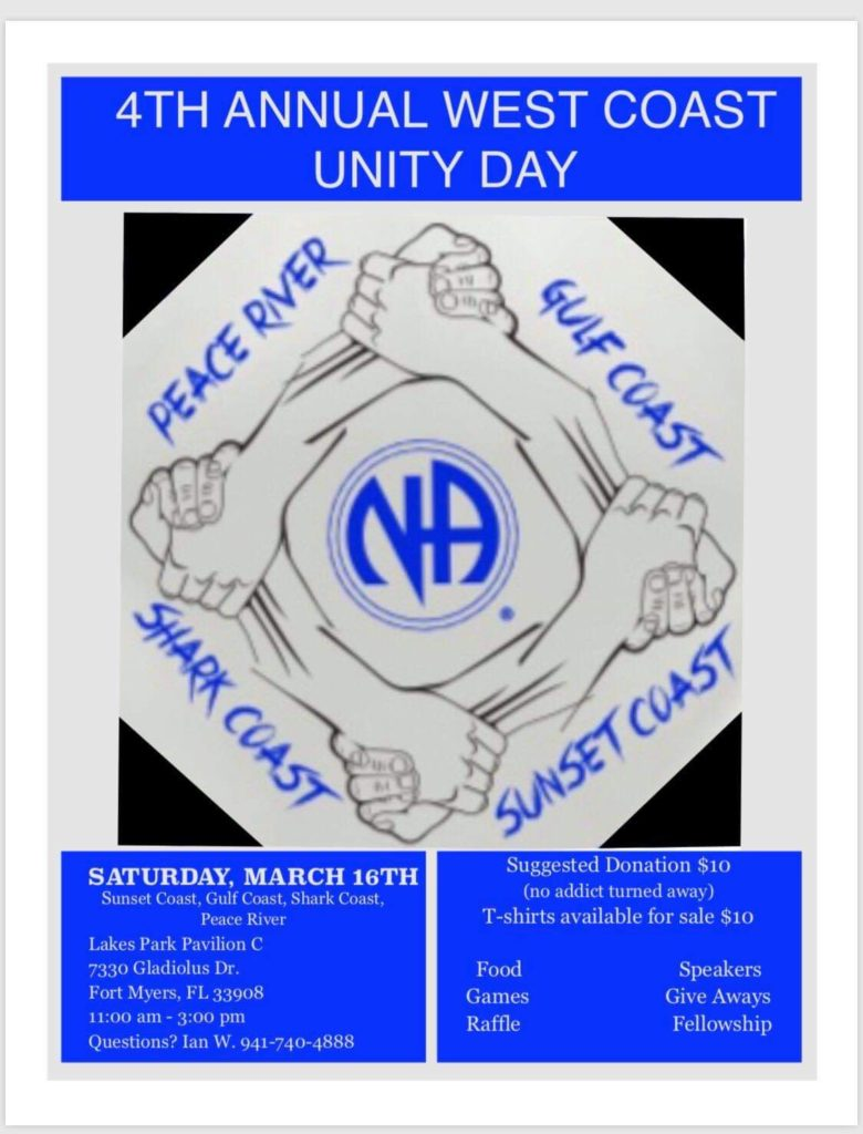 4th Annual West Coast Unity Day Peace River @ Lakes Park Pavilion C | Fort Myers | Florida | United States
