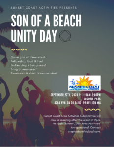 Son Of A Beach Unity Dat @ Sudgen Park @Pavilion #8 | Naples | Florida | United States